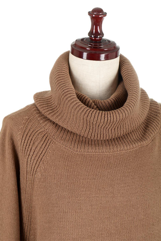 SoftKnitOffTurtle-NeckPullOverカシミアタッチ・オフタートルプルオーバー大人カジュアルに最適な海外ファッションのothers(その他インポートアイテム)のトップスやニット・セーター。大人っぽい着こなしができる模様編みのハイネックトップス。ストレッチ性のある生地で動きやすさも抜群です。/main-20
