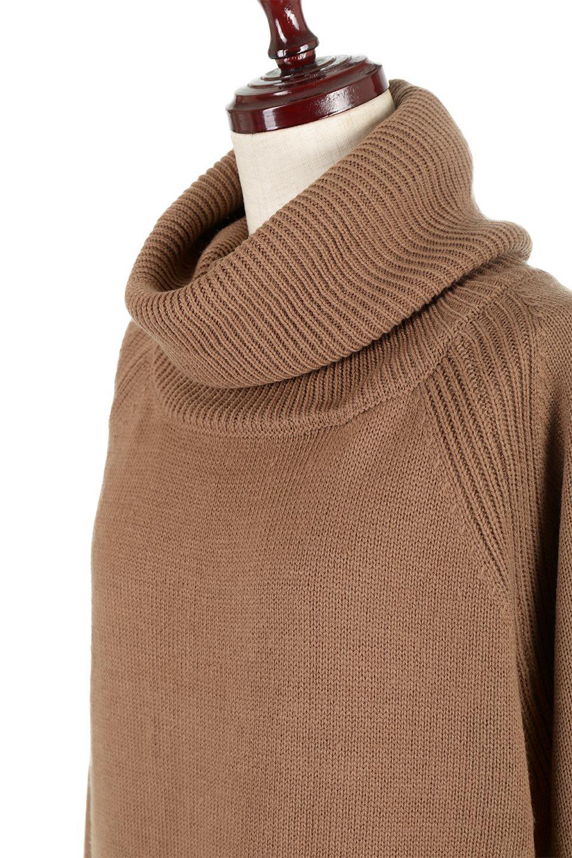 SoftKnitOffTurtle-NeckPullOverカシミアタッチ・オフタートルプルオーバー大人カジュアルに最適な海外ファッションのothers(その他インポートアイテム)のトップスやニット・セーター。大人っぽい着こなしができる模様編みのハイネックトップス。ストレッチ性のある生地で動きやすさも抜群です。/main-21