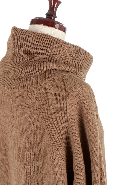 SoftKnitOffTurtle-NeckPullOverカシミアタッチ・オフタートルプルオーバー大人カジュアルに最適な海外ファッションのothers(その他インポートアイテム)のトップスやニット・セーター。大人っぽい着こなしができる模様編みのハイネックトップス。ストレッチ性のある生地で動きやすさも抜群です。/main-23
