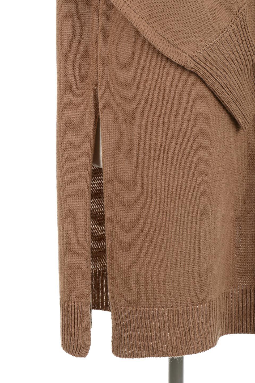 SoftKnitOffTurtle-NeckPullOverカシミアタッチ・オフタートルプルオーバー大人カジュアルに最適な海外ファッションのothers(その他インポートアイテム)のトップスやニット・セーター。大人っぽい着こなしができる模様編みのハイネックトップス。ストレッチ性のある生地で動きやすさも抜群です。/main-25