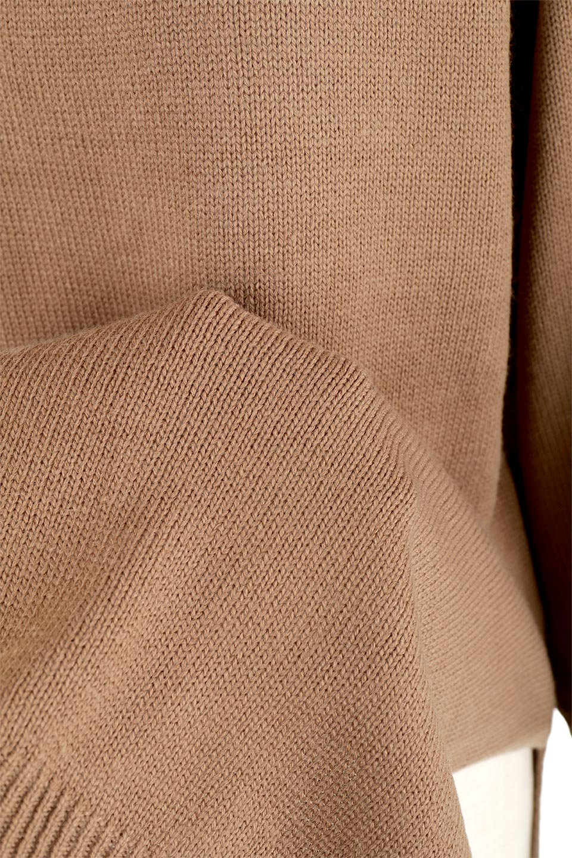 SoftKnitOffTurtle-NeckPullOverカシミアタッチ・オフタートルプルオーバー大人カジュアルに最適な海外ファッションのothers(その他インポートアイテム)のトップスやニット・セーター。大人っぽい着こなしができる模様編みのハイネックトップス。ストレッチ性のある生地で動きやすさも抜群です。/main-26