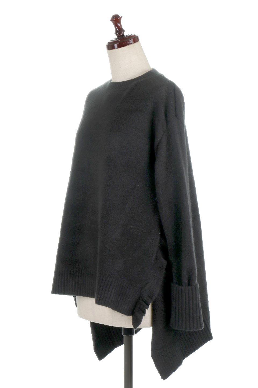 SideFrillKnitPullOverサイドフリル・ニットプルオーバー大人カジュアルに最適な海外ファッションのothers(その他インポートアイテム)のトップスやニット・セーター。キャッチーで可愛いフリルがアイコニックな雰囲気たっぷりのニットトップス。起毛素材のニットが優しい雰囲気で肌触りも◎袖口のリブの折り返し、サイドの大胆なスリット、フリルと可愛さがぎゅっと詰まったレディーライクな1枚です。/main-11