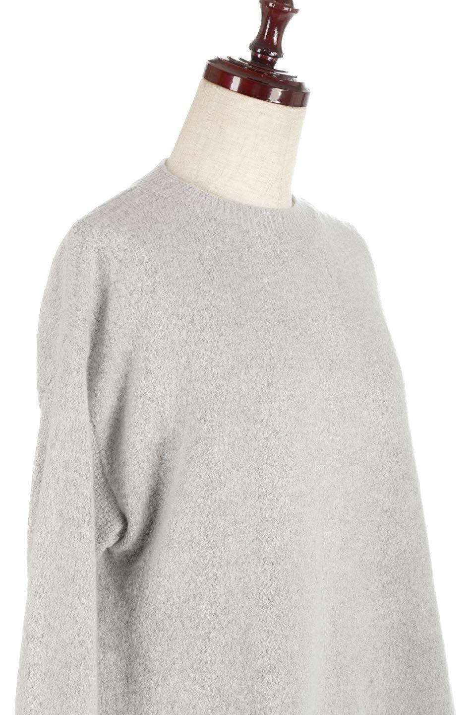 SideFrillKnitPullOverサイドフリル・ニットプルオーバー大人カジュアルに最適な海外ファッションのothers(その他インポートアイテム)のトップスやニット・セーター。キャッチーで可愛いフリルがアイコニックな雰囲気たっぷりのニットトップス。起毛素材のニットが優しい雰囲気で肌触りも◎袖口のリブの折り返し、サイドの大胆なスリット、フリルと可愛さがぎゅっと詰まったレディーライクな1枚です。/main-15
