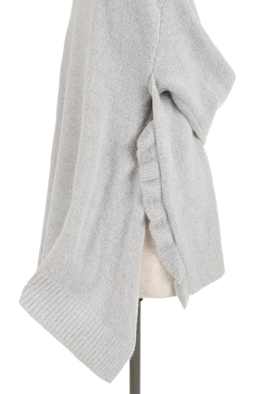 SideFrillKnitPullOverサイドフリル・ニットプルオーバー大人カジュアルに最適な海外ファッションのothers(その他インポートアイテム)のトップスやニット・セーター。キャッチーで可愛いフリルがアイコニックな雰囲気たっぷりのニットトップス。起毛素材のニットが優しい雰囲気で肌触りも◎袖口のリブの折り返し、サイドの大胆なスリット、フリルと可愛さがぎゅっと詰まったレディーライクな1枚です。/main-19