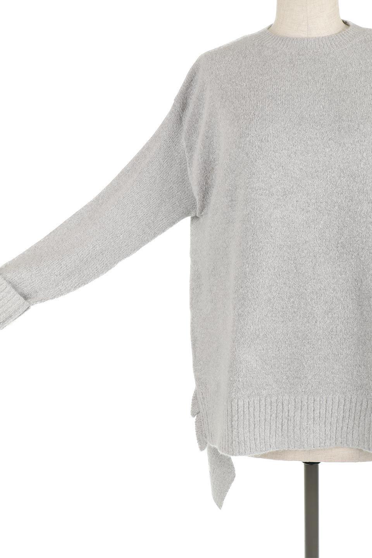 SideFrillKnitPullOverサイドフリル・ニットプルオーバー大人カジュアルに最適な海外ファッションのothers(その他インポートアイテム)のトップスやニット・セーター。キャッチーで可愛いフリルがアイコニックな雰囲気たっぷりのニットトップス。起毛素材のニットが優しい雰囲気で肌触りも◎袖口のリブの折り返し、サイドの大胆なスリット、フリルと可愛さがぎゅっと詰まったレディーライクな1枚です。/main-20