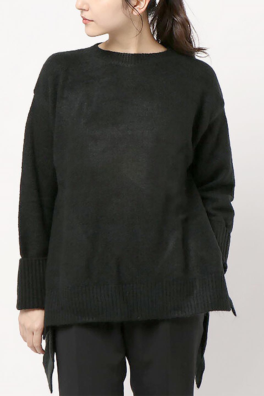 SideFrillKnitPullOverサイドフリル・ニットプルオーバー大人カジュアルに最適な海外ファッションのothers(その他インポートアイテム)のトップスやニット・セーター。キャッチーで可愛いフリルがアイコニックな雰囲気たっぷりのニットトップス。起毛素材のニットが優しい雰囲気で肌触りも◎袖口のリブの折り返し、サイドの大胆なスリット、フリルと可愛さがぎゅっと詰まったレディーライクな1枚です。/main-24