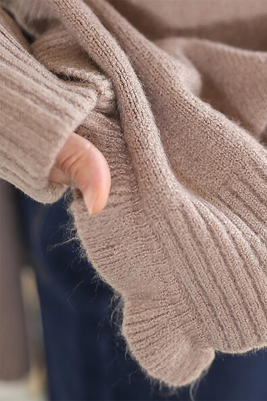 SideFrillKnitPullOverサイドフリル・ニットプルオーバー大人カジュアルに最適な海外ファッションのothers(その他インポートアイテム)のトップスやニット・セーター。キャッチーで可愛いフリルがアイコニックな雰囲気たっぷりのニットトップス。起毛素材のニットが優しい雰囲気で肌触りも◎袖口のリブの折り返し、サイドの大胆なスリット、フリルと可愛さがぎゅっと詰まったレディーライクな1枚です。/main-28