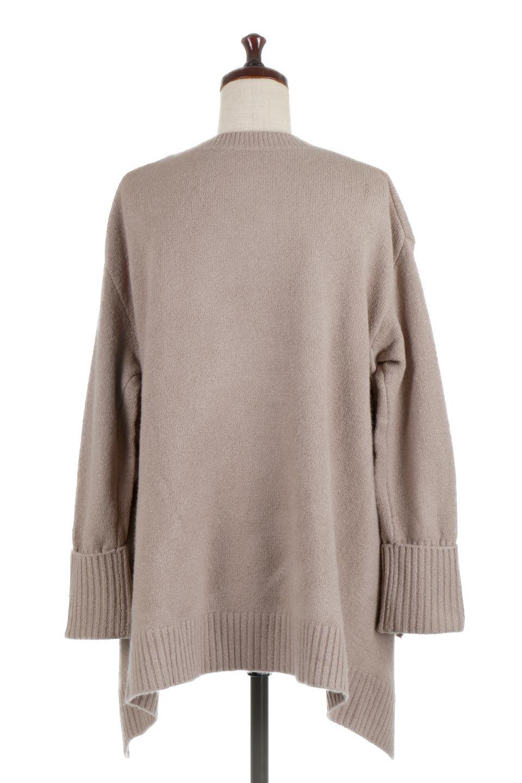 SideFrillKnitPullOverサイドフリル・ニットプルオーバー大人カジュアルに最適な海外ファッションのothers(その他インポートアイテム)のトップスやニット・セーター。キャッチーで可愛いフリルがアイコニックな雰囲気たっぷりのニットトップス。起毛素材のニットが優しい雰囲気で肌触りも◎袖口のリブの折り返し、サイドの大胆なスリット、フリルと可愛さがぎゅっと詰まったレディーライクな1枚です。/main-9