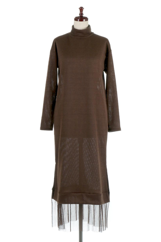 SideSlitTulleHemDressチュールプリーツ・ドッキングワンピース大人カジュアルに最適な海外ファッションのothers(その他インポートアイテム)のワンピースやマキシワンピース。透け感のアルチュールが可愛いロングワンピース。立体感のあるワッフル素材との組み合わせが人気のアイテムです。/main-10