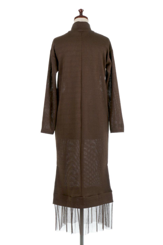 SideSlitTulleHemDressチュールプリーツ・ドッキングワンピース大人カジュアルに最適な海外ファッションのothers(その他インポートアイテム)のワンピースやマキシワンピース。透け感のアルチュールが可愛いロングワンピース。立体感のあるワッフル素材との組み合わせが人気のアイテムです。/main-14