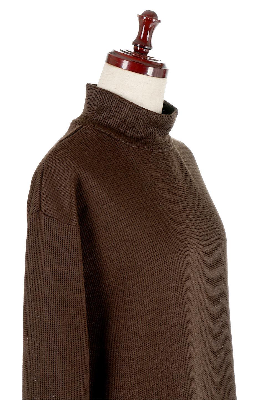 SideSlitTulleHemDressチュールプリーツ・ドッキングワンピース大人カジュアルに最適な海外ファッションのothers(その他インポートアイテム)のワンピースやマキシワンピース。透け感のアルチュールが可愛いロングワンピース。立体感のあるワッフル素材との組み合わせが人気のアイテムです。/main-16