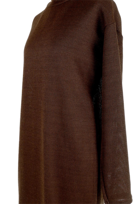 SideSlitTulleHemDressチュールプリーツ・ドッキングワンピース大人カジュアルに最適な海外ファッションのothers(その他インポートアイテム)のワンピースやマキシワンピース。透け感のアルチュールが可愛いロングワンピース。立体感のあるワッフル素材との組み合わせが人気のアイテムです。/main-19