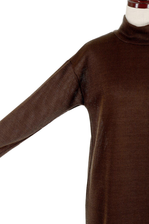 SideSlitTulleHemDressチュールプリーツ・ドッキングワンピース大人カジュアルに最適な海外ファッションのothers(その他インポートアイテム)のワンピースやマキシワンピース。透け感のアルチュールが可愛いロングワンピース。立体感のあるワッフル素材との組み合わせが人気のアイテムです。/main-20