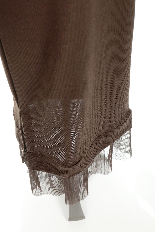SideSlitTulleHemDressチュールプリーツ・ドッキングワンピース大人カジュアルに最適な海外ファッションのothers(その他インポートアイテム)のワンピースやマキシワンピース。透け感のアルチュールが可愛いロングワンピース。立体感のあるワッフル素材との組み合わせが人気のアイテムです。/main-23