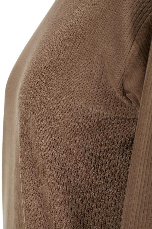 VelorRibTurtleNeckTopベロアリブ・タートルネックトップス大人カジュアルに最適な海外ファッションのothers(その他インポートアイテム)のトップスやカットソー。優しい光沢のベロアリブ素材を使用したトップス。オフタール風の緩いネックが可愛いアイテムです。/main-25