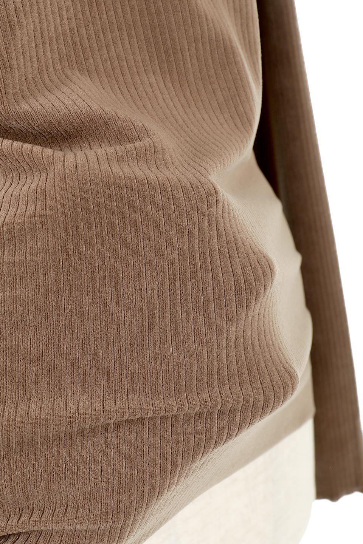 VelorRibTurtleNeckTopベロアリブ・タートルネックトップス大人カジュアルに最適な海外ファッションのothers(その他インポートアイテム)のトップスやカットソー。優しい光沢のベロアリブ素材を使用したトップス。オフタール風の緩いネックが可愛いアイテムです。/main-27