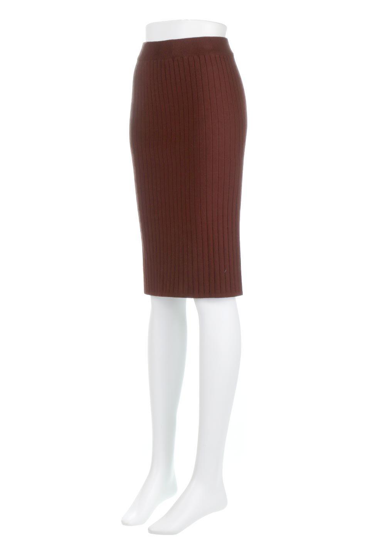 RibKnittedPencilSkirt(Short)リブニット・ペンシルスカート大人カジュアルに最適な海外ファッションのothers(その他インポートアイテム)のボトムやスカート。スタイルがよく見えると大人気のリブニット・ペンシルスカート。窮屈過ぎないフィット感で下半身を引き締めてくれる足長スカートです。/main-1