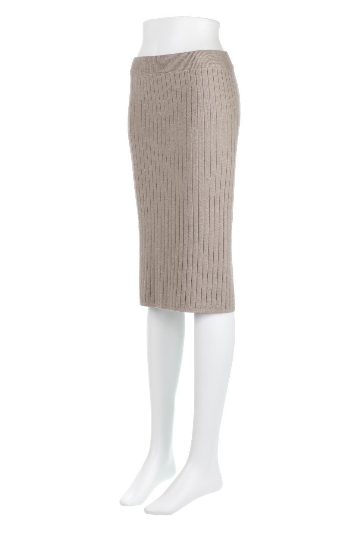 RibKnittedPencilSkirt(Short)リブニット・ペンシルスカート大人カジュアルに最適な海外ファッションのothers(その他インポートアイテム)のボトムやスカート。スタイルがよく見えると大人気のリブニット・ペンシルスカート。窮屈過ぎないフィット感で下半身を引き締めてくれる足長スカートです。/main-11