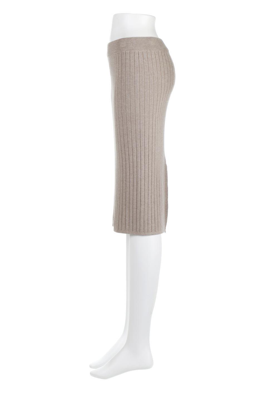 RibKnittedPencilSkirt(Short)リブニット・ペンシルスカート大人カジュアルに最適な海外ファッションのothers(その他インポートアイテム)のボトムやスカート。スタイルがよく見えると大人気のリブニット・ペンシルスカート。窮屈過ぎないフィット感で下半身を引き締めてくれる足長スカートです。/main-12