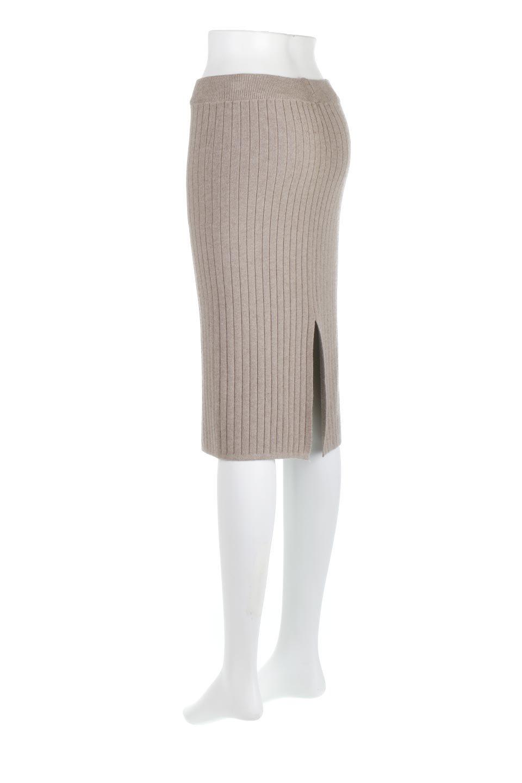RibKnittedPencilSkirt(Short)リブニット・ペンシルスカート大人カジュアルに最適な海外ファッションのothers(その他インポートアイテム)のボトムやスカート。スタイルがよく見えると大人気のリブニット・ペンシルスカート。窮屈過ぎないフィット感で下半身を引き締めてくれる足長スカートです。/main-13