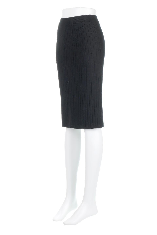 RibKnittedPencilSkirt(Short)リブニット・ペンシルスカート大人カジュアルに最適な海外ファッションのothers(その他インポートアイテム)のボトムやスカート。スタイルがよく見えると大人気のリブニット・ペンシルスカート。窮屈過ぎないフィット感で下半身を引き締めてくれる足長スカートです。/main-16