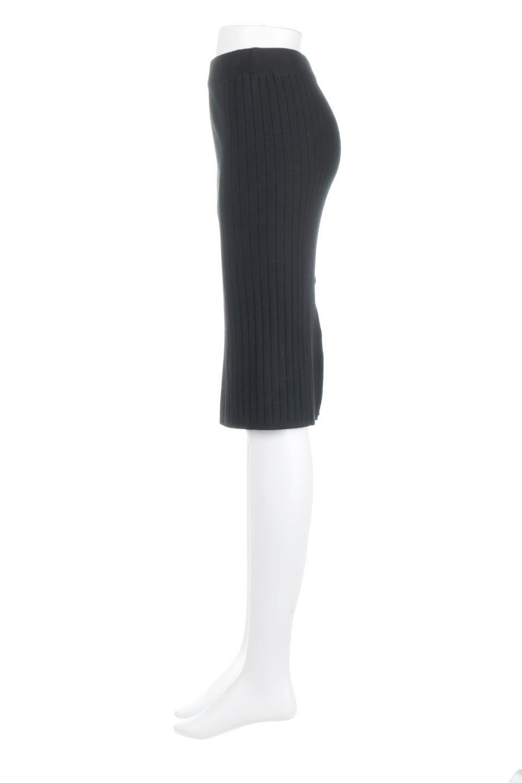 RibKnittedPencilSkirt(Short)リブニット・ペンシルスカート大人カジュアルに最適な海外ファッションのothers(その他インポートアイテム)のボトムやスカート。スタイルがよく見えると大人気のリブニット・ペンシルスカート。窮屈過ぎないフィット感で下半身を引き締めてくれる足長スカートです。/main-17