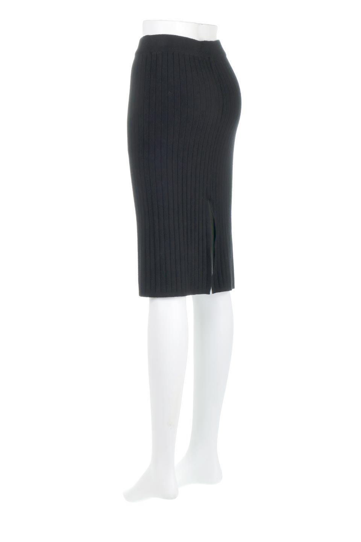 RibKnittedPencilSkirt(Short)リブニット・ペンシルスカート大人カジュアルに最適な海外ファッションのothers(その他インポートアイテム)のボトムやスカート。スタイルがよく見えると大人気のリブニット・ペンシルスカート。窮屈過ぎないフィット感で下半身を引き締めてくれる足長スカートです。/main-18