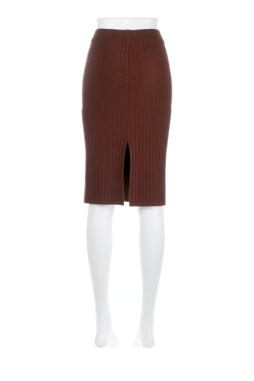 RibKnittedPencilSkirt(Short)リブニット・ペンシルスカート大人カジュアルに最適な海外ファッションのothers(その他インポートアイテム)のボトムやスカート。スタイルがよく見えると大人気のリブニット・ペンシルスカート。窮屈過ぎないフィット感で下半身を引き締めてくれる足長スカートです。/main-4