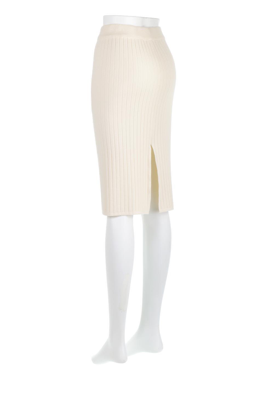 RibKnittedPencilSkirt(Short)リブニット・ペンシルスカート大人カジュアルに最適な海外ファッションのothers(その他インポートアイテム)のボトムやスカート。スタイルがよく見えると大人気のリブニット・ペンシルスカート。窮屈過ぎないフィット感で下半身を引き締めてくれる足長スカートです。/main-8