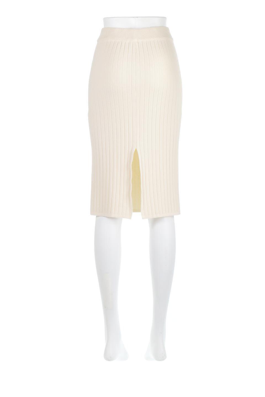 RibKnittedPencilSkirt(Short)リブニット・ペンシルスカート大人カジュアルに最適な海外ファッションのothers(その他インポートアイテム)のボトムやスカート。スタイルがよく見えると大人気のリブニット・ペンシルスカート。窮屈過ぎないフィット感で下半身を引き締めてくれる足長スカートです。/main-9