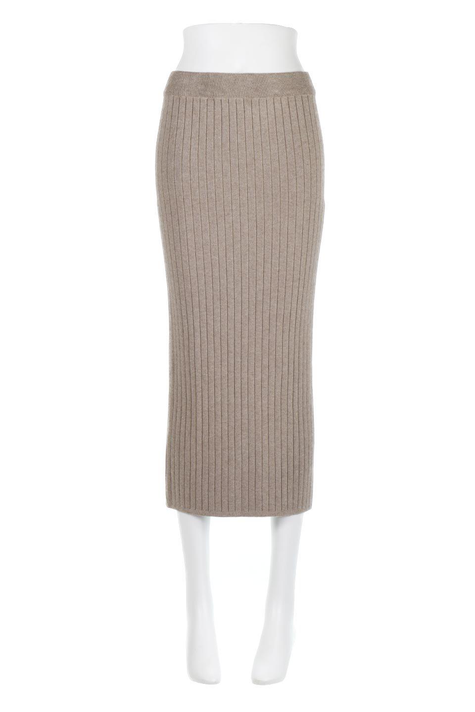 RibKnittedPencilSkirt(Long)リブニット・ペンシルスカート大人カジュアルに最適な海外ファッションのothers(その他インポートアイテム)のボトムやスカート。スタイルがよく見えると大人気のリブニット・ペンシルスカート。窮屈過ぎないフィット感で下半身を引き締めてくれる足長スカートです。