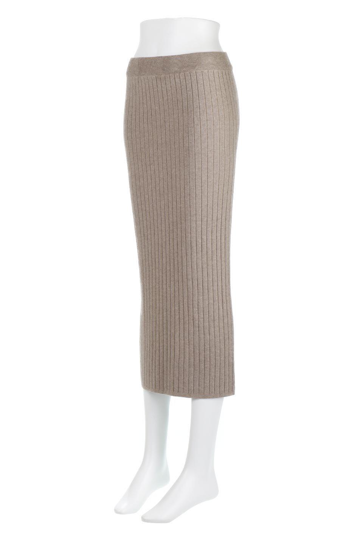 RibKnittedPencilSkirt(Long)リブニット・ペンシルスカート大人カジュアルに最適な海外ファッションのothers(その他インポートアイテム)のボトムやスカート。スタイルがよく見えると大人気のリブニット・ペンシルスカート。窮屈過ぎないフィット感で下半身を引き締めてくれる足長スカートです。/main-1