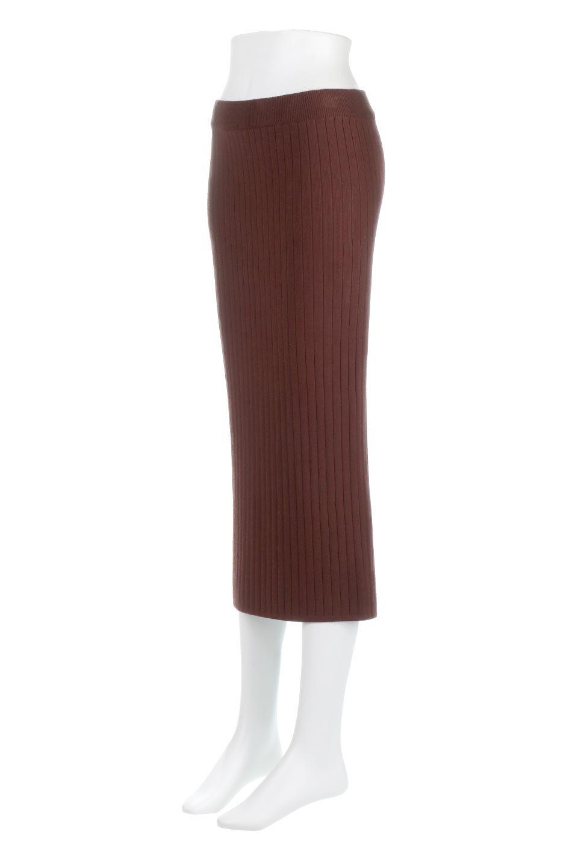 RibKnittedPencilSkirt(Long)リブニット・ペンシルスカート大人カジュアルに最適な海外ファッションのothers(その他インポートアイテム)のボトムやスカート。スタイルがよく見えると大人気のリブニット・ペンシルスカート。窮屈過ぎないフィット感で下半身を引き締めてくれる足長スカートです。/main-11