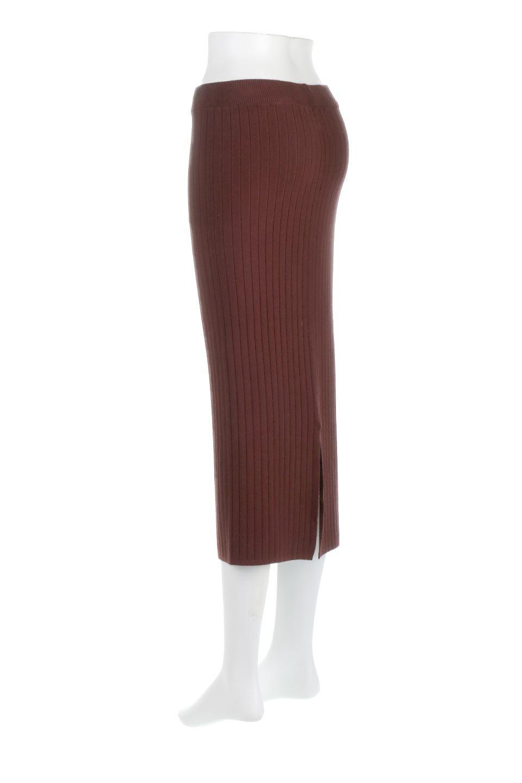 RibKnittedPencilSkirt(Long)リブニット・ペンシルスカート大人カジュアルに最適な海外ファッションのothers(その他インポートアイテム)のボトムやスカート。スタイルがよく見えると大人気のリブニット・ペンシルスカート。窮屈過ぎないフィット感で下半身を引き締めてくれる足長スカートです。/main-13