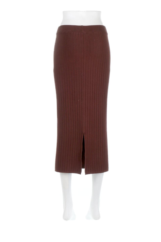RibKnittedPencilSkirt(Long)リブニット・ペンシルスカート大人カジュアルに最適な海外ファッションのothers(その他インポートアイテム)のボトムやスカート。スタイルがよく見えると大人気のリブニット・ペンシルスカート。窮屈過ぎないフィット感で下半身を引き締めてくれる足長スカートです。/main-14
