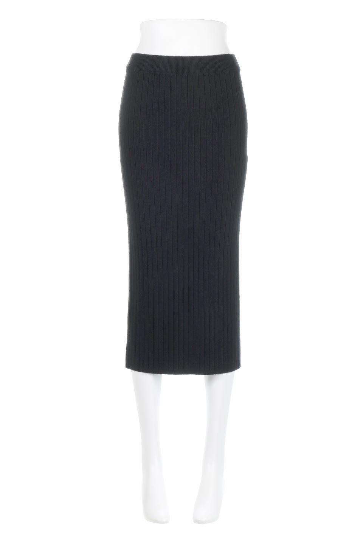 RibKnittedPencilSkirt(Long)リブニット・ペンシルスカート大人カジュアルに最適な海外ファッションのothers(その他インポートアイテム)のボトムやスカート。スタイルがよく見えると大人気のリブニット・ペンシルスカート。窮屈過ぎないフィット感で下半身を引き締めてくれる足長スカートです。/main-15