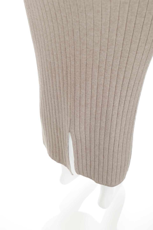 RibKnittedPencilSkirt(Long)リブニット・ペンシルスカート大人カジュアルに最適な海外ファッションのothers(その他インポートアイテム)のボトムやスカート。スタイルがよく見えると大人気のリブニット・ペンシルスカート。窮屈過ぎないフィット感で下半身を引き締めてくれる足長スカートです。/main-25