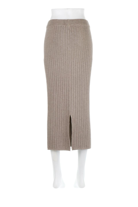 RibKnittedPencilSkirt(Long)リブニット・ペンシルスカート大人カジュアルに最適な海外ファッションのothers(その他インポートアイテム)のボトムやスカート。スタイルがよく見えると大人気のリブニット・ペンシルスカート。窮屈過ぎないフィット感で下半身を引き締めてくれる足長スカートです。/main-4