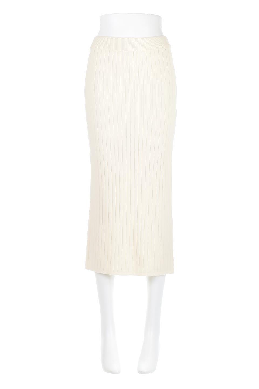 RibKnittedPencilSkirt(Long)リブニット・ペンシルスカート大人カジュアルに最適な海外ファッションのothers(その他インポートアイテム)のボトムやスカート。スタイルがよく見えると大人気のリブニット・ペンシルスカート。窮屈過ぎないフィット感で下半身を引き締めてくれる足長スカートです。/main-5