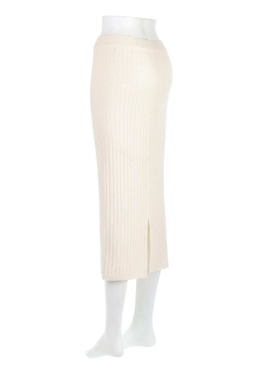 RibKnittedPencilSkirt(Long)リブニット・ペンシルスカート大人カジュアルに最適な海外ファッションのothers(その他インポートアイテム)のボトムやスカート。スタイルがよく見えると大人気のリブニット・ペンシルスカート。窮屈過ぎないフィット感で下半身を引き締めてくれる足長スカートです。/main-8