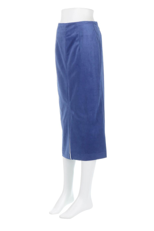 VelourSemiTightSkirtベロア生地・セミタイトスカート大人カジュアルに最適な海外ファッションのothers(その他インポートアイテム)のボトムやスカート。控えめな光沢が上品なベロアスカート。合わせやすい秋冬カラーのバリエーションで色違いで欲しくなります。/main-11
