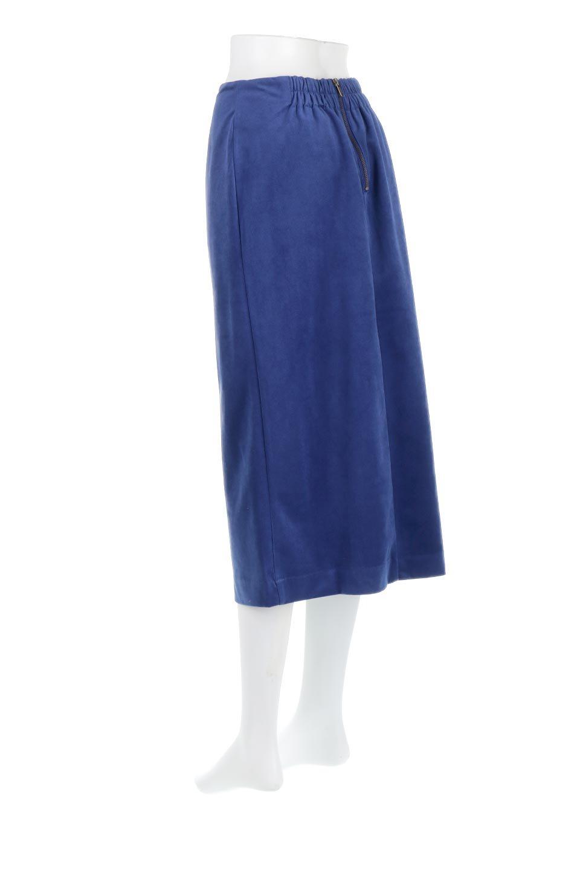 VelourSemiTightSkirtベロア生地・セミタイトスカート大人カジュアルに最適な海外ファッションのothers(その他インポートアイテム)のボトムやスカート。控えめな光沢が上品なベロアスカート。合わせやすい秋冬カラーのバリエーションで色違いで欲しくなります。/main-13
