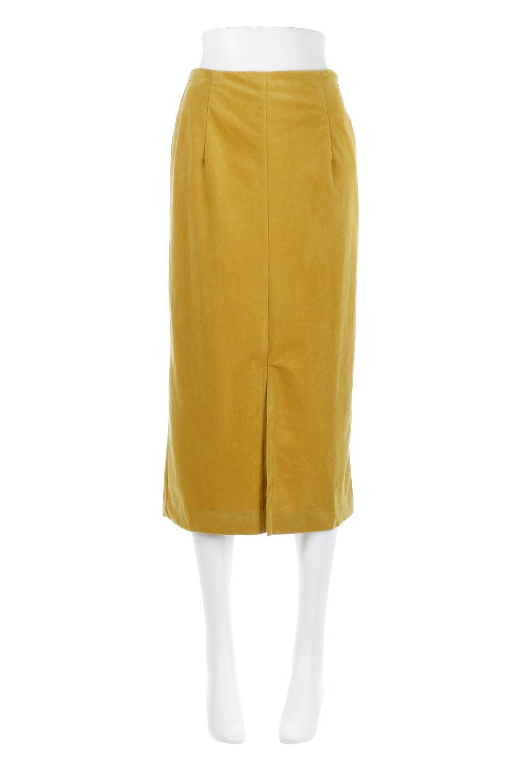 VelourSemiTightSkirtベロア生地・セミタイトスカート大人カジュアルに最適な海外ファッションのothers(その他インポートアイテム)のボトムやスカート。控えめな光沢が上品なベロアスカート。合わせやすい秋冬カラーのバリエーションで色違いで欲しくなります。/main-15