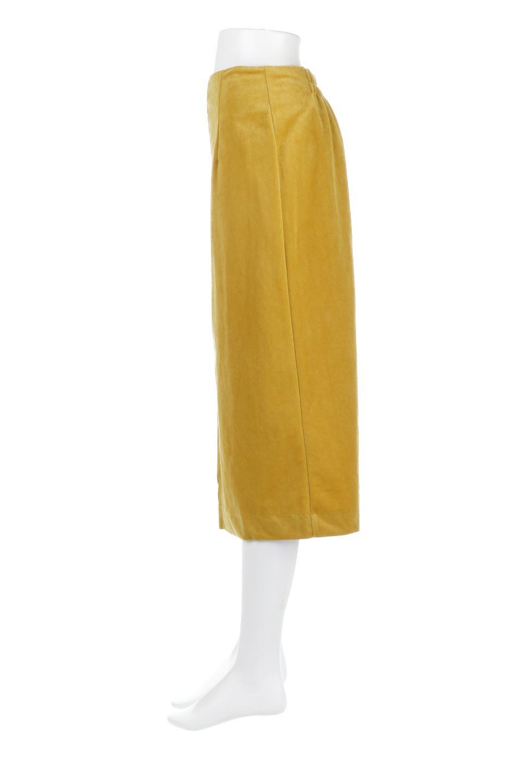 VelourSemiTightSkirtベロア生地・セミタイトスカート大人カジュアルに最適な海外ファッションのothers(その他インポートアイテム)のボトムやスカート。控えめな光沢が上品なベロアスカート。合わせやすい秋冬カラーのバリエーションで色違いで欲しくなります。/main-17