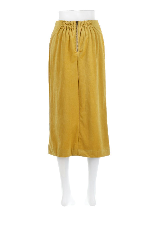VelourSemiTightSkirtベロア生地・セミタイトスカート大人カジュアルに最適な海外ファッションのothers(その他インポートアイテム)のボトムやスカート。控えめな光沢が上品なベロアスカート。合わせやすい秋冬カラーのバリエーションで色違いで欲しくなります。/main-19