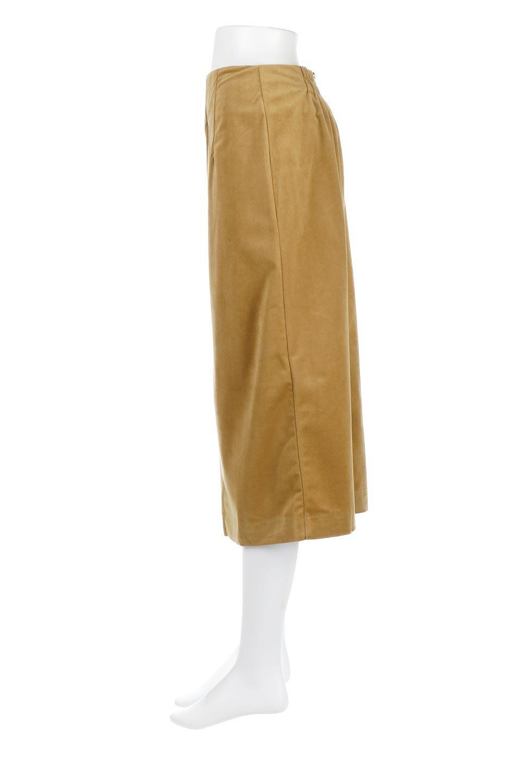 VelourSemiTightSkirtベロア生地・セミタイトスカート大人カジュアルに最適な海外ファッションのothers(その他インポートアイテム)のボトムやスカート。控えめな光沢が上品なベロアスカート。合わせやすい秋冬カラーのバリエーションで色違いで欲しくなります。/main-2