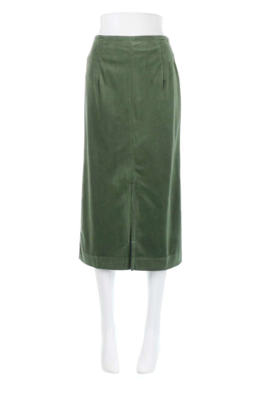 VelourSemiTightSkirtベロア生地・セミタイトスカート大人カジュアルに最適な海外ファッションのothers(その他インポートアイテム)のボトムやスカート。控えめな光沢が上品なベロアスカート。合わせやすい秋冬カラーのバリエーションで色違いで欲しくなります。/main-20