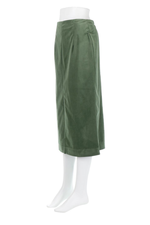 VelourSemiTightSkirtベロア生地・セミタイトスカート大人カジュアルに最適な海外ファッションのothers(その他インポートアイテム)のボトムやスカート。控えめな光沢が上品なベロアスカート。合わせやすい秋冬カラーのバリエーションで色違いで欲しくなります。/main-21