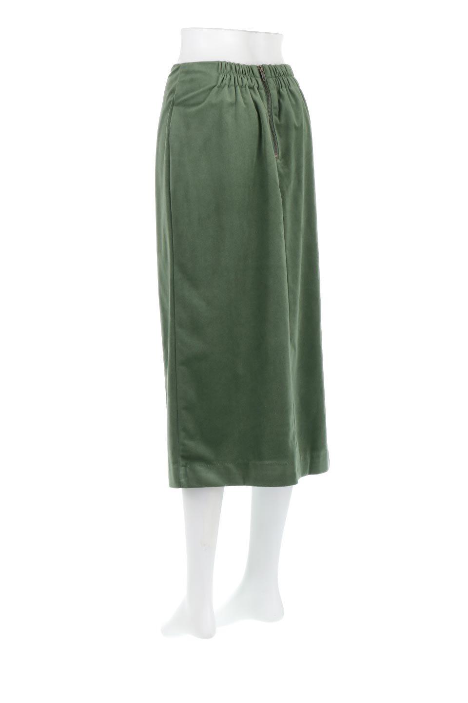 VelourSemiTightSkirtベロア生地・セミタイトスカート大人カジュアルに最適な海外ファッションのothers(その他インポートアイテム)のボトムやスカート。控えめな光沢が上品なベロアスカート。合わせやすい秋冬カラーのバリエーションで色違いで欲しくなります。/main-23