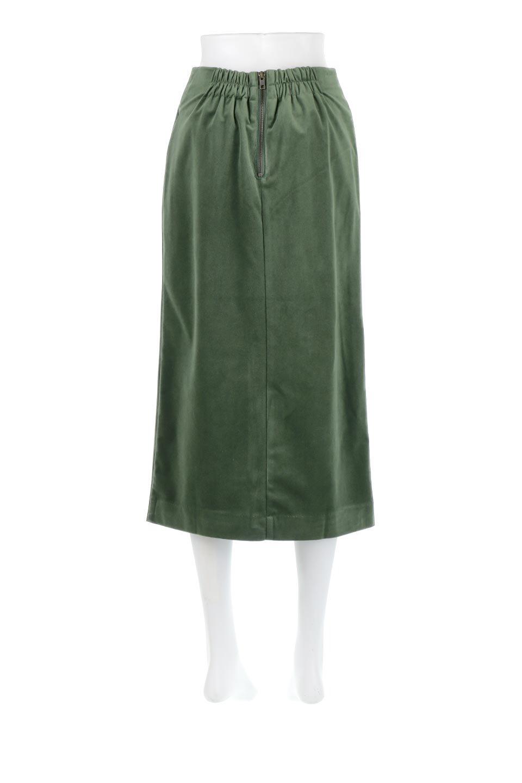 VelourSemiTightSkirtベロア生地・セミタイトスカート大人カジュアルに最適な海外ファッションのothers(その他インポートアイテム)のボトムやスカート。控えめな光沢が上品なベロアスカート。合わせやすい秋冬カラーのバリエーションで色違いで欲しくなります。/main-24